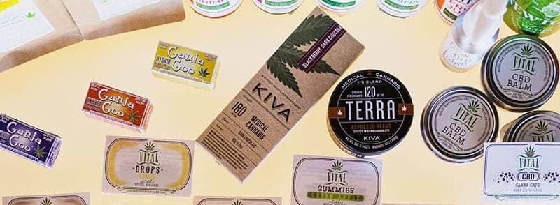 Various medical cannabis products