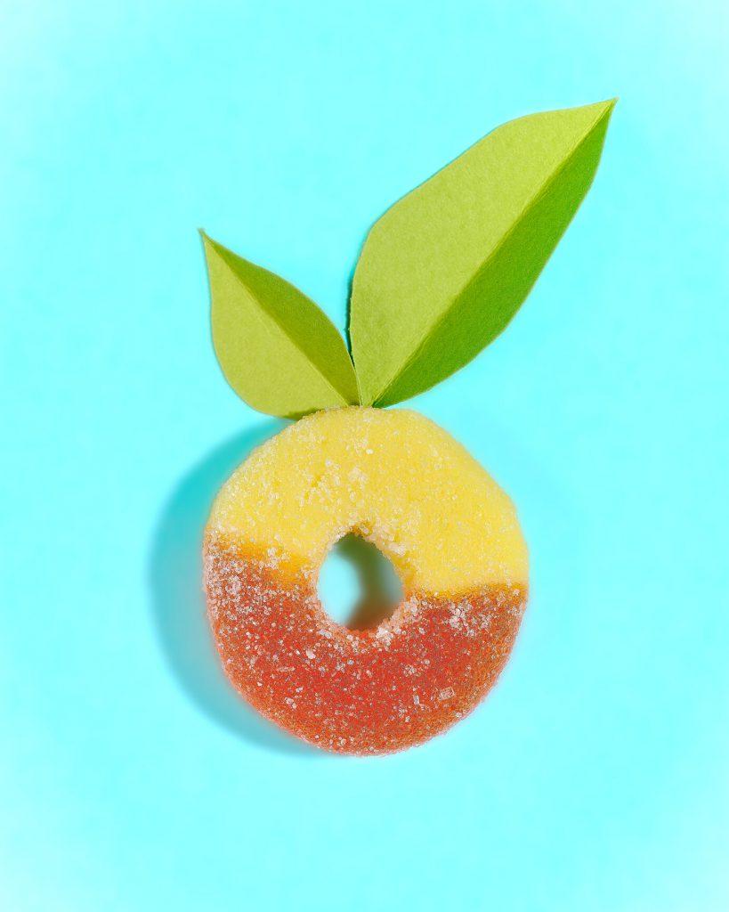 Canamo CBD peach rings
