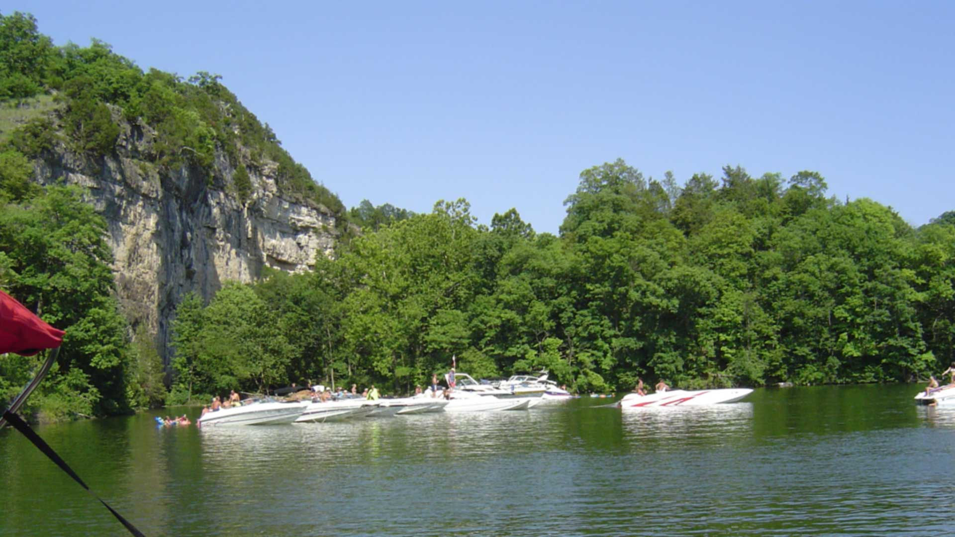 Boats on Lake of the Ozarks